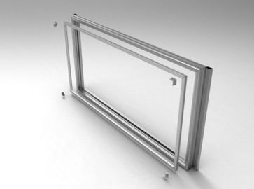 Custom Aluminium Extrusion Profiles For Sound Proof Wall And Noise Reduction Tunnel