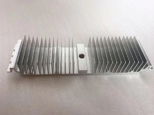 Pre-drilled passive aluminum heatsink, extrusion machining drilling holes heatsink