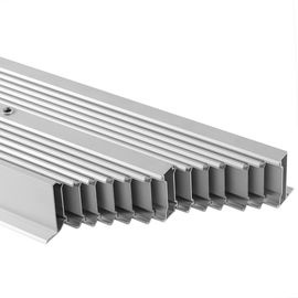 Repand Aluminium Heat Sink Profiles Heating Cooling Radiator System For Electronics